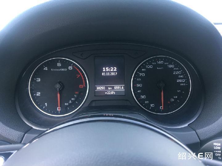 该车为绍兴联奥奥迪4s店服务替换车,平时用于接送客户使用.
