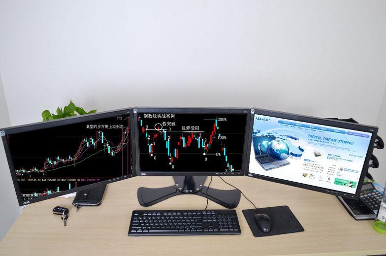 股票电脑 一机多屏 质量保证 保修一年13616755606