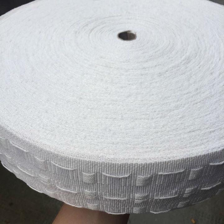 本地生产松紧带,窗帘带,尼龙网衬,抽带等各式织带