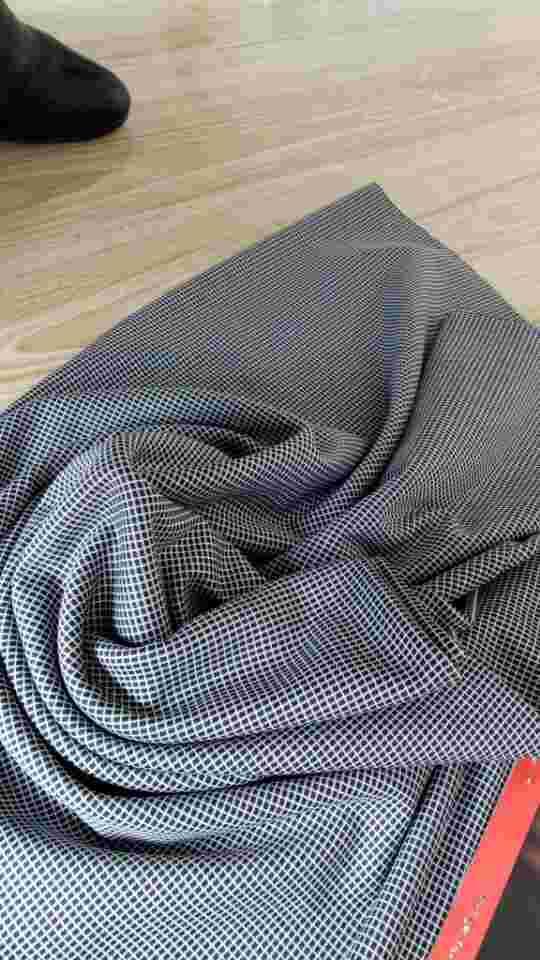 全锦纶超顺滑色织坯布处理
