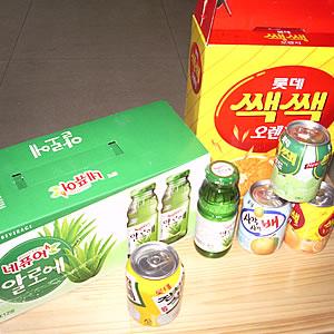 进口食品-乐天饮料