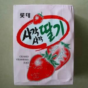 乐天饮料--草莓汁