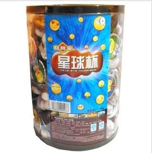 甜甜乐星球杯(巧克力浆+饼干粒)一桶1.08kg