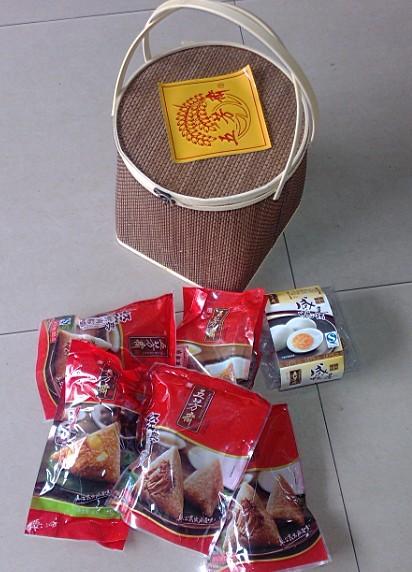 五芳斋粽子四角咖啡篮