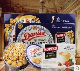 皇冠丹麦牛油曲奇饼干 908g(礼盒装)