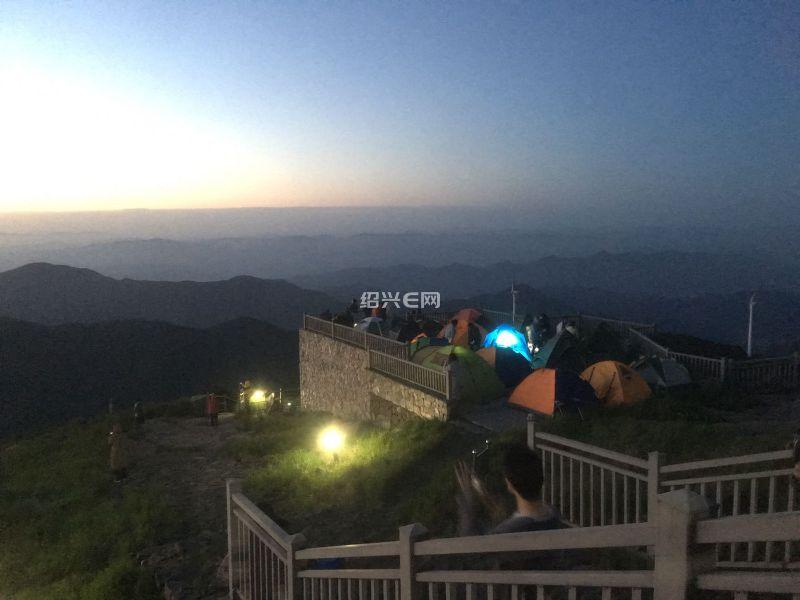 [游记分享]五一假期自驾东白山露营看日出
