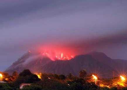 索弗里亚活火山