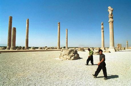 波斯波利斯石柱
