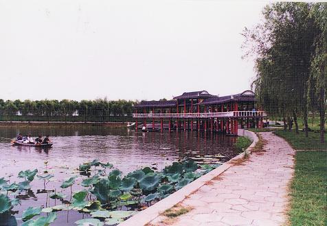 洪湖蓝田生态园