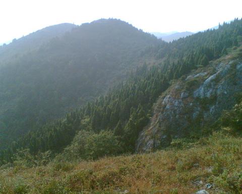 安陆白兆山风景区