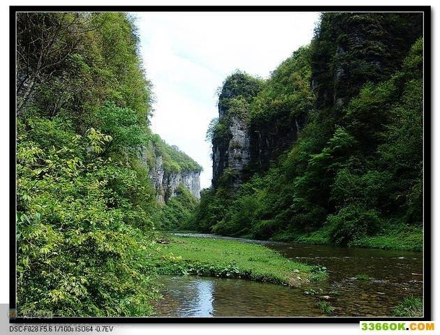 龙桥河景区
