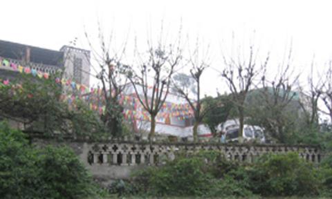 重庆南山公园吟松轩农家乐