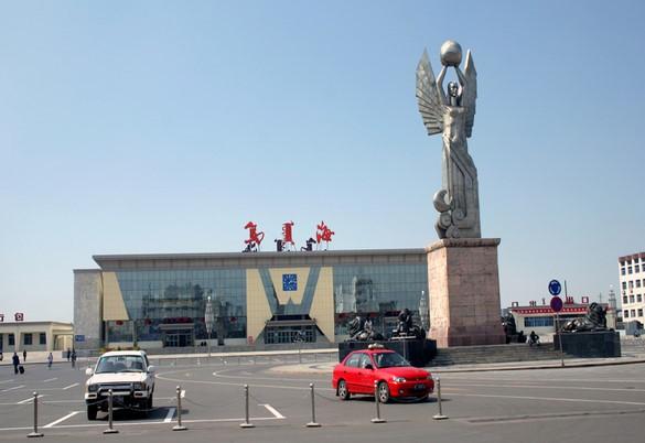 乌海火车站