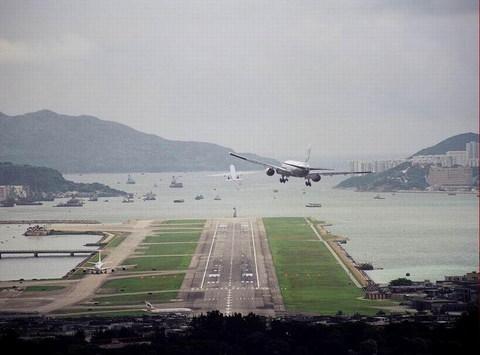 """香港启德机场"""""""""""