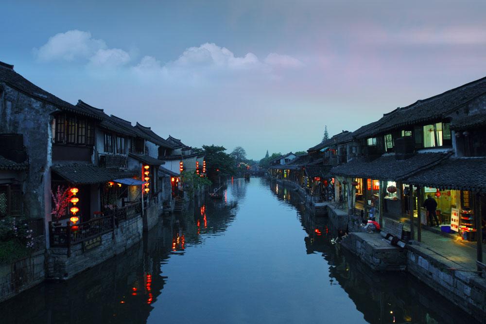 西塘夜色】我在西塘等你--嘉善西塘古镇特价一日游