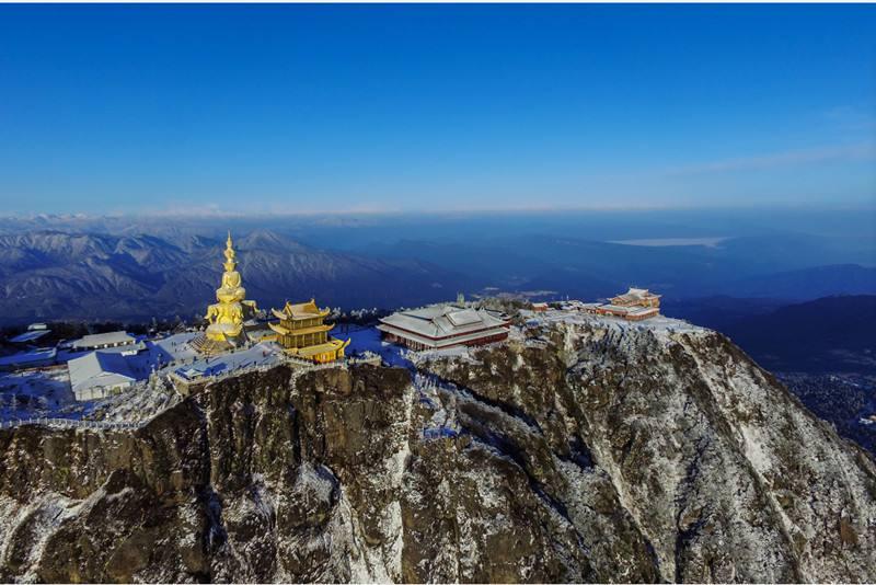 9月四川峨眉山、乐山大佛、山西五台山佛教之旅双飞一动七日游