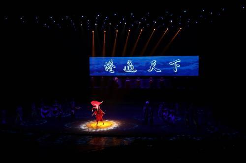 观中国首部航海主题5D演艺秀-甬秀《港通天下》、宁波南塘老街