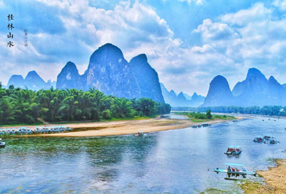 7-8月桂林双飞4日游升级一晚桂林挂牌五星级漓江大瀑布酒店