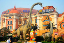 """""""度假侏罗纪,水陆双狂欢""""--常州中华恐龙园、全新恐龙基因研"""