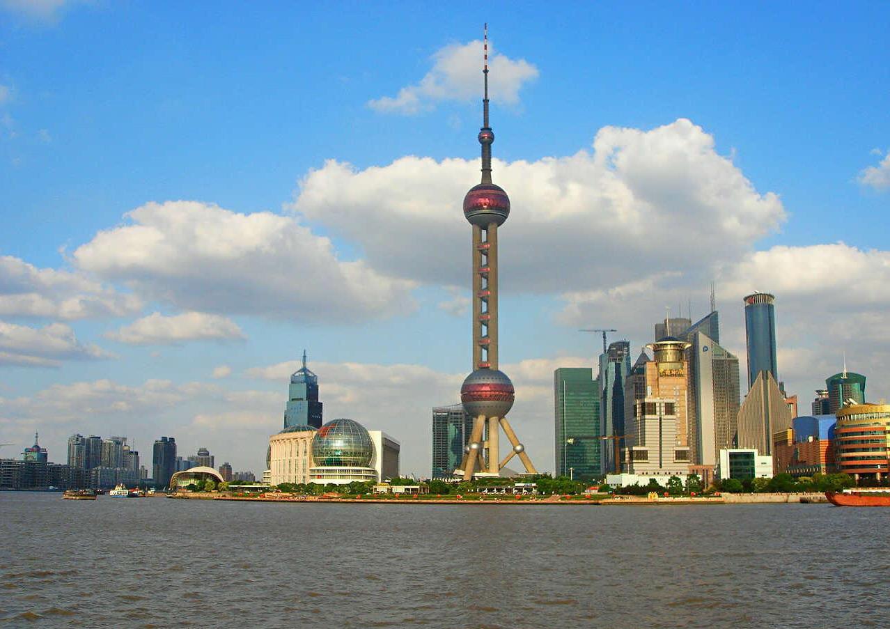都市风-上海东方明珠塔、城隍庙、夜游外滩、长风海底世界二日游