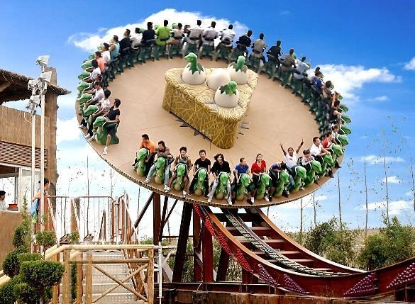 【主题乐园】常州环球恐龙城High翻畅玩二次入园二日游
