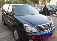 绍兴市午吉汽车服务有限公司:别克GL8、7座商务车