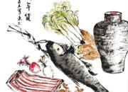 """书画里头的年味别样浓 """"绍兴年味书画展""""亮相上海"""