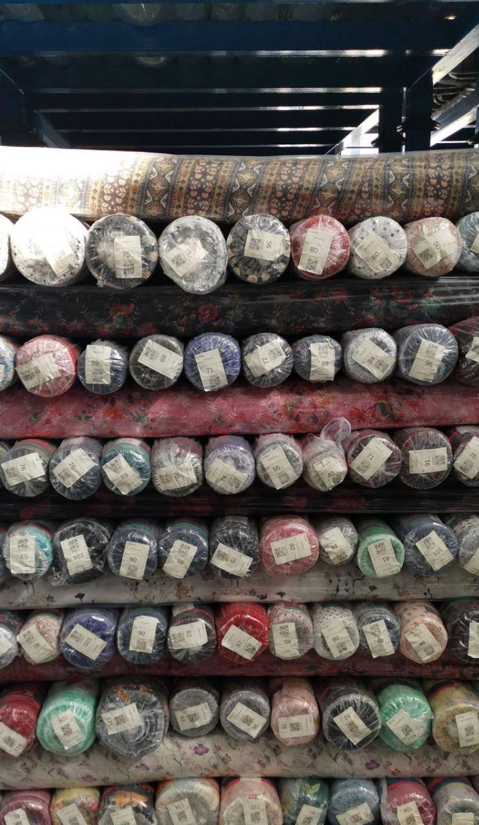 30D雪纺绉印花处理品20万米