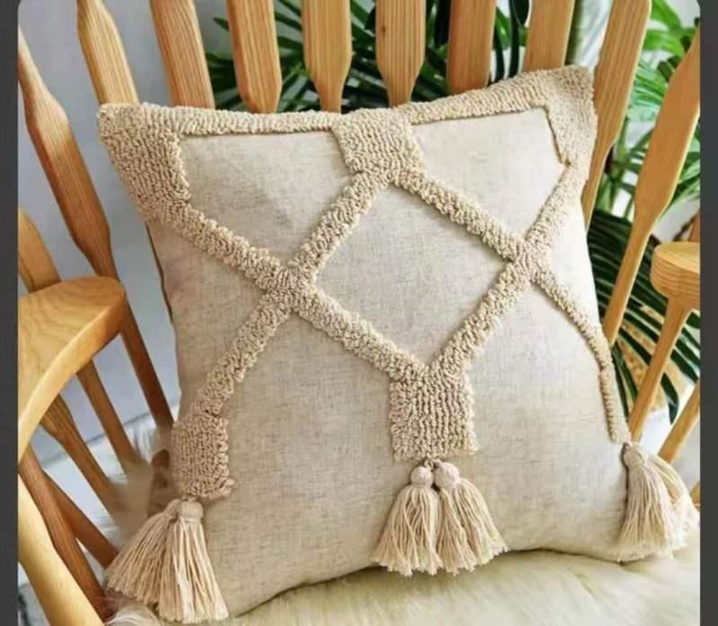 沃牛家纺厂生产充棉靠垫抱枕