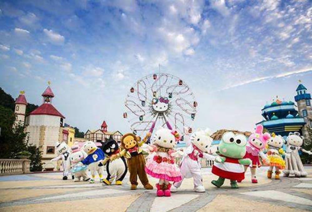 8月安吉杭州hello kitty乐园亲子活动一日