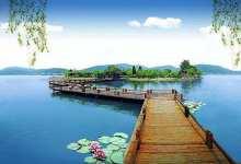 """【湖光山色】观嘉绍大桥、游""""小西湖""""--海盐南北湖一日游"""