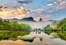"""丽水缙云仙都、古堰画乡、""""中国醉美的梯田""""云和轻呼吸三日游"""