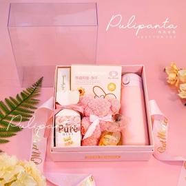 亚克力礼盒粉色系