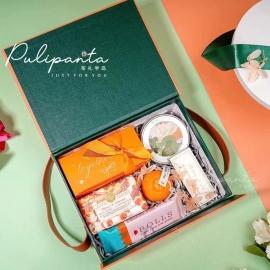 爱马仕橙手提包