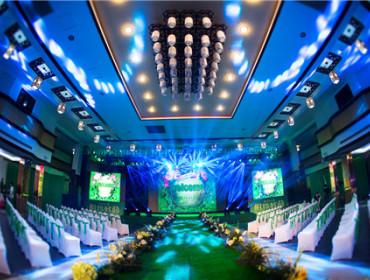 香港品珍楼大酒店的宴会厅:越王厅