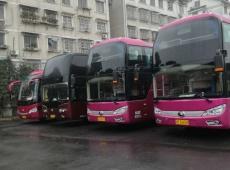 大巴车 旅游车 去机场